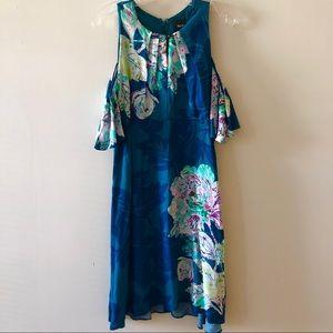 Anthropologie Maeve Elia Open-Shoulder Dress 6